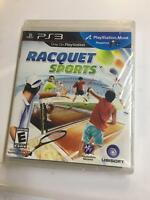 Racquet Sports (Motion) for PlayStation 3 [New PS3] NEW SEALED PACKAGE