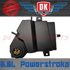 6.0L Ford Powerstroke Black Aluminum Diesel Coolant Degas Bottle Reservoir