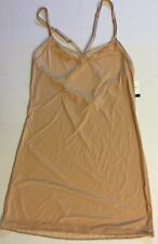 CALVIN KLEIN NAKED TOUCH MICRO Nightgown Sz S Chemise new NWT Nude