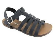 Womens Sandals Black Size 8 Isabella Brown NEW