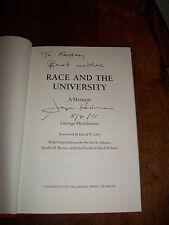 2010 RACE & UNIVERSITY GEORGE HENDERSON BOOK CORETTA SCOTT KING MARTIN LUTHER JR