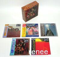 REO SPEEDWAGON / JAPAN Mini LP CD x 5 titles + PROMO BOX (Nine Lives BOX) Set!!