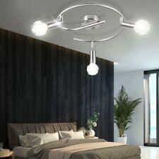 Luxus Decken Leuchte Draht Geflecht Kugel Strahler silber Schlaf Zimmer Lampe