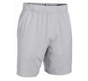 NEW Under Armour UA 1255199 Mens Coast Board Shorts Size SMALL RHINO GRAY 003