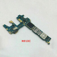 Main board Motherboard For Samsung Galaxy Note 4 N910T / N910C 32GB Unlocked BUS