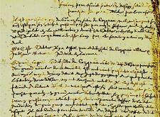 1611 Factum Vente aux enchères et banissement DU DRESNAY Guingamp Côtes-d'Armor
