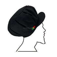 Black Pleated Negus Conscious Handmade Rasta Hat Cap Reggae Jamaica XL/XXL