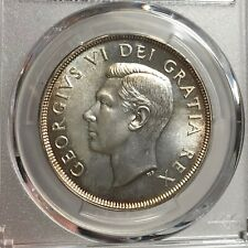 PCGS-PL65 Canada 1949 George VI Dollar Silver Coin
