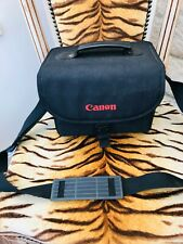 CANON BLACK CANVAS CAMERA SHOULDER BAG