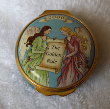 Halcyon Days Enamels covered box~Made Exclusively for Mary Kay~pristine-NR