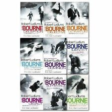 Robert Ludlums the Bourne Series Collection 9 Books Set, (Legacy, Ultimatum, sup