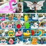 All Float Inflatable Air Mattress Swimming Pool Beach Sea Toys Ring Flamingo New