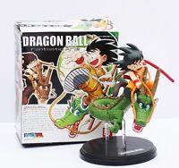 Bola de Dragon Shenron & Goku figura 14 cm PVC Dragon Ball