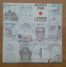 (JOHN LENNON-Shaved Fish)-BEATLES-ORIGINAL 1ST PRESSING, 1975-F8-LP