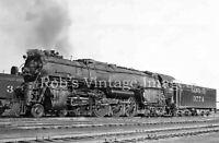 Santa Fe Steam Locomotive  #3774 Photo 4-8-4 ATSF  railroad train