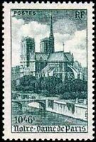 "FRANCE STAMP YVERT 776  SCOTT B217 "" CATHEDRAL NOTRE DAME PARIS 10F+6F "" MNH VVF"