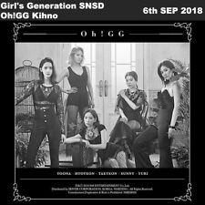 Girl's Generation SNSD Oh!GG Lil' Touch Kihno Album Kit+Poster+PhotoCard KPOP