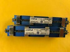 New listing Crucial 4Gb Kit (2x2Gb) Ct25672Ap80E 240-Pin 256Mx72 Ddr2 Ram for Apple Mac Pro