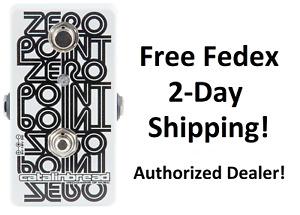 New Catalinbread Zero Point Flanger Guitar Effects Pedal ZeroPoint