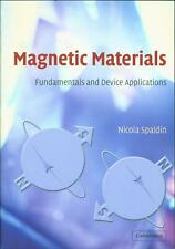 Nicola A Spaldin / Magnetic Materials Fundamentals and Device #150255