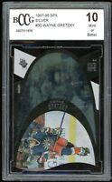 1997-98 SPX Silver #30 Wayne Gretzky Card BGS BCCG 10 Mint+