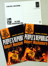 4 X ROBERT MUCHAMORE PEOPLE'S REPUBLIC POSTCARDS  - CHERUB
