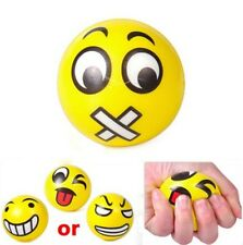 2x  Face Anti Stress Reliever Ball ADHD Autism Mood Toy Squeeze Relief