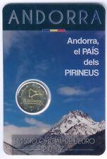 "Andorra Coincard mit 2 Euro 2017 ""Andorra, el Pais dels PIRINEUS"" UNC."