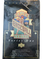 1993 UPPER DECK BASEBALL SERIES 1 UNOPENED SEALED BOX 36 WAX PACKS