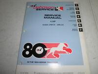 1980 johnson factory outboard motor service manual 4 hp