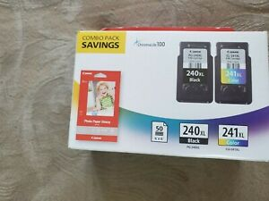 Canon PG-240XL CL-241XL Genuine Ink Cartridge Combo Pack 5206B005