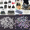 Wholesale SS3-SS40 Clear AB Crystal Iron On / Hotfix Glass Rhinestones Flat Back