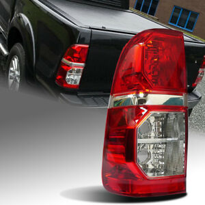 RED LEFT SIDE TAIL LIGHT REAR LAMP FIT TOYOTA HILUX VIGO CHAMP MK7 2012 13 14