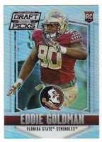 2015 Panini Prizm Collegiate Draft Picks Rookies Prizms Refractor RC #119 Eddie