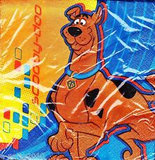 SCOOBY DOO Fun Times LUNCH NAPKINS (16) ~ Birthday Party Supplies Dinner Large