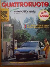 Quattroruote 298 1980 - Test Renault 5 & Fiesta - Alfetta Turbo Diesel     [Q36]