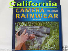 Camera Rain cover DSLR SLR Protector Rainwear Rainproof for Canon Nikon Raincoat