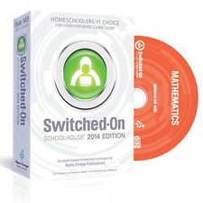 Switched On Schoolhouse Math Grade 8 Pre-Algebra 2016 Edition With Install CD