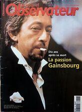 Mag 1999: SARGA GAINSBOURG_GEORGES MOUSTAKI_Keren ANN_Ellen MacARTHUR