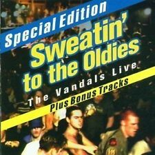 The Vandals Live Sweatin' To The Oldies CD NEW SEALED U.S. Punk Kung Fu