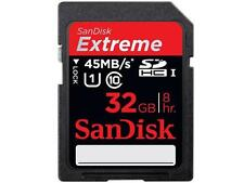 *NEW* SanDisk Extreme 32GB GB UHS-I SDHC SD Class 10 45MB/S Memory Card UHS-1 32