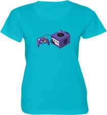 Nintendo Classic GameCube Video Game Console System Womens Juniors Girls T-Shirt