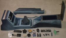 1980/86 Datsun Nissan 720 Blue Shifter Trim /Center Console/ parcel tray+extras