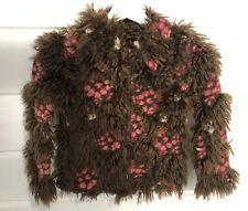 Cakewalk European Boutique Furry Coat Jacket  Size 8