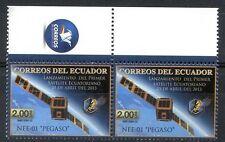 ECUADOR 2013 - SPACE - COSMOS x 2 COMPLETE SET, MNH, VF