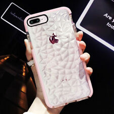 Hybrid Shockproof Diamond Soft Silicone Case Cover For iPhone X 7 Plus XS MAX