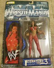 WWF WWE JACQUELINE Jakks Pacific Signature Series 3 Wrestling Action Figure NEW