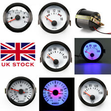 "2"" 52mm Led Car Boost/Water Temp/Oil Temp/Pressure/Volt/Tacho Gauge Pointer"