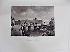 Eau Forte Impression le Pont Neuf Paris par Corot