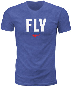 Fly Racing WFH Tee - Blue / Small